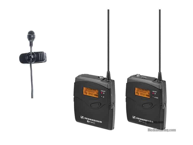 Sennheiser G3 bodypack transmitter + receiver