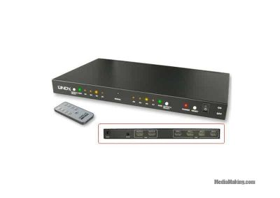 Switch HDMI 4×2 matrix