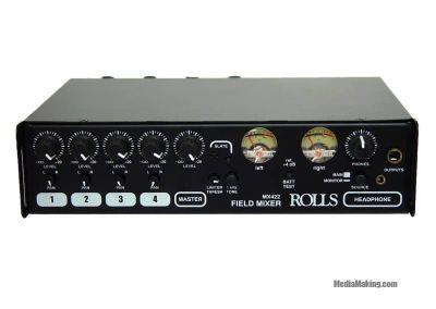 Rolls mixer microfonico portatile