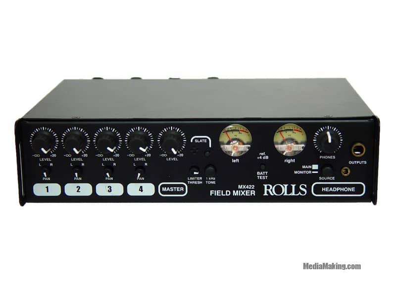 Rolls mixer portable