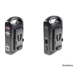 Dual V-Mount Battery Charger