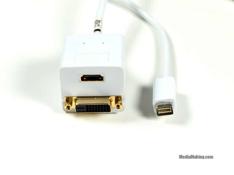 VGA-HDMI+DVI - Apple Cable