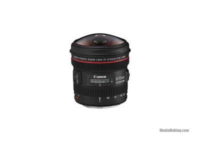 Canon Lens EF 8-15mm f/4L Fisheye USM
