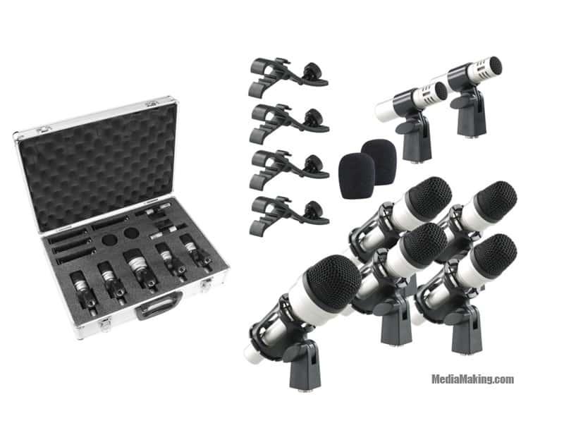 Set microfoni per batteria