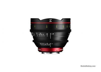 Ottica Canon CN-E14mm T3.1 L F