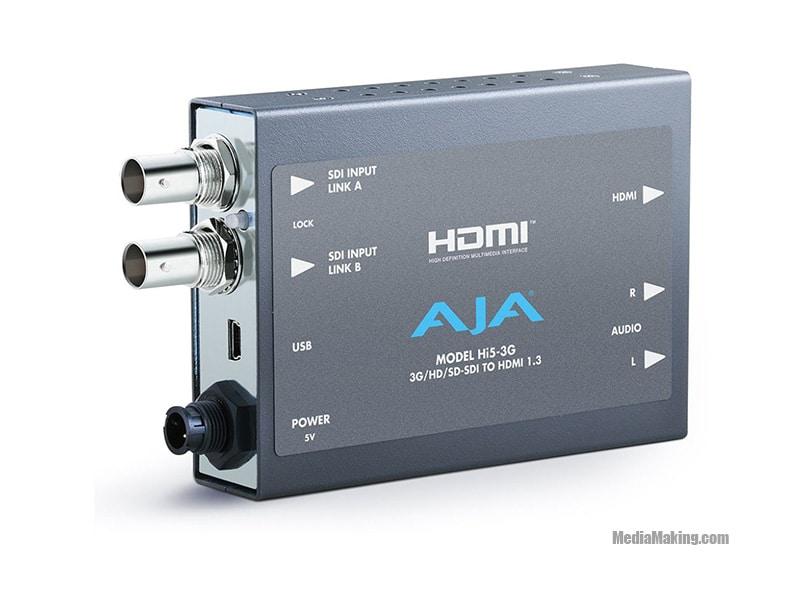 Miniconvertitore Aja 3D-SDI A HDMI