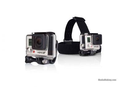 Fascia per la testa + QuickClip per GoPro