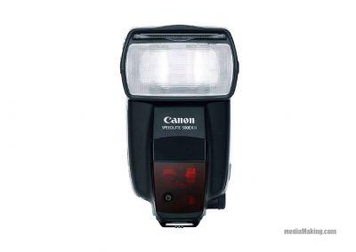 Flash Canon 580EX II + bounce dome