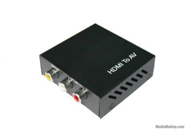 HDMI to AV converter