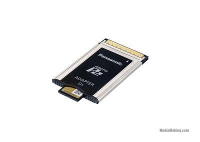 Memory card converter MicroP2