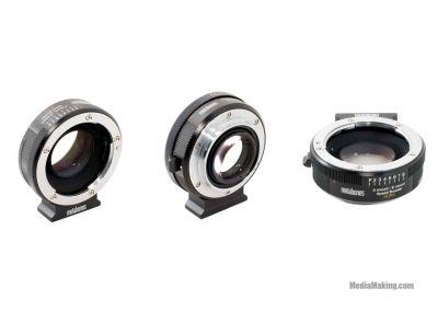 Adattatore Metabones Speed Booster EF-E mount