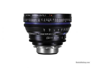 ZEISS CP2 25mm/T 2,1 EF/PL/E-mount lens