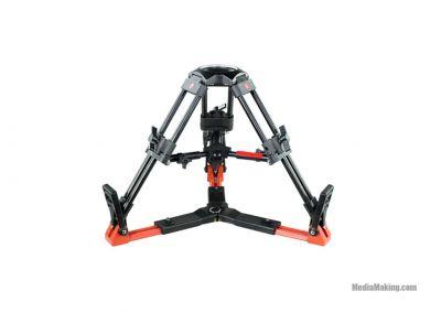 MediaPro mini treppiede con testa a coppa 100mm