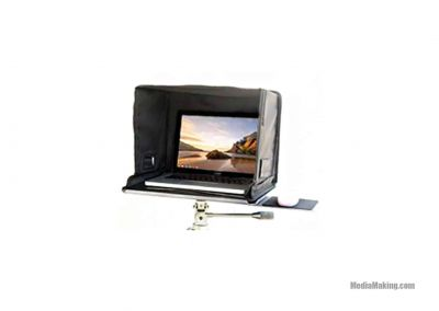 MediaPro platform tray with sunhood for 17″ laptops