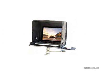 Supporto con paraluce MediaPro per laptop 17″