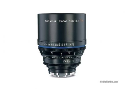 ZEISS CP2 100mm/T 2,1 metric EF/PL/E-mount lens