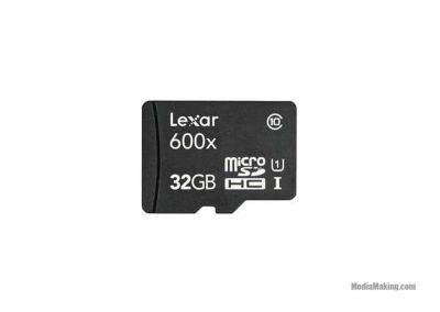 Scheda Micro SDHC Lexar 32GB 600x