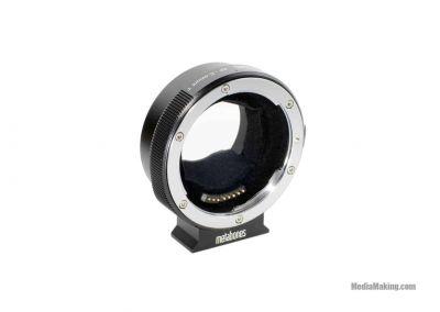 Adapter ring for lenses Metabones EF-E mount