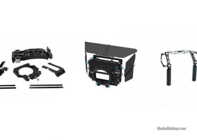Kit for FS7: MatteBox + Base Plate + Rosette Handle Set