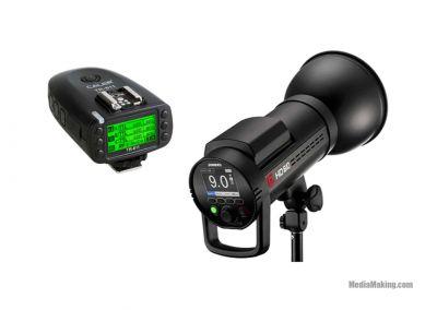 Flash Jinbei HD 610W a batteria