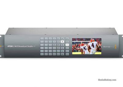 Switcher ATEM 2 M/E Broadcast Studio 4K