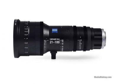 ZEISS Lightweight Zoom LWZ.3 21-100mm/T2.9-3.9 T* lens