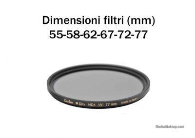 Zeta ND4, 8 Filters