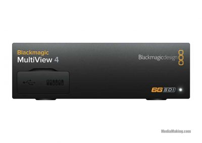 Blackmagic MultiView 4 split