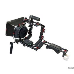 DSLR Camera Cage Shoulder Rig