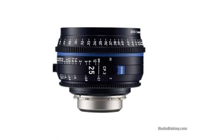ZEISS CP3 25mm/T 2.1 EF/PL/E-mount lens