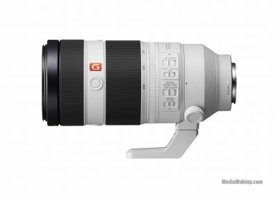 Sony FE 100-400mm F4.5-5.6 GM OSS lens