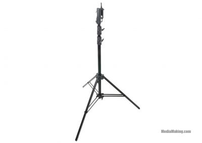 Master Cine stand with 2 risers and 3 sections