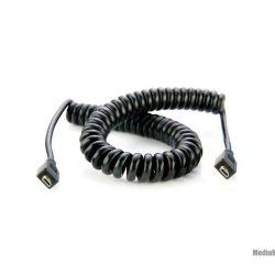 Cavo a spirale da micro HDMI a micro HDMI 50 cm