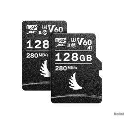 Angelbird AV Pro microSD memory card 128 GB UHS-II V60 (2 pcs)