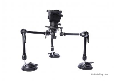 Car mount suction cup with a payload up to 30 kg