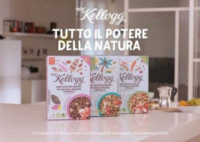 Kellogg – Scopri tutto il potere della natura a colazione