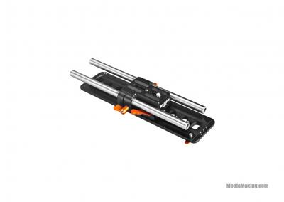 Camera adapter plate for camcoders and DSLR