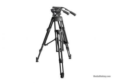 Cavalletto video kit MOTUS 32 con testa fluida MH32