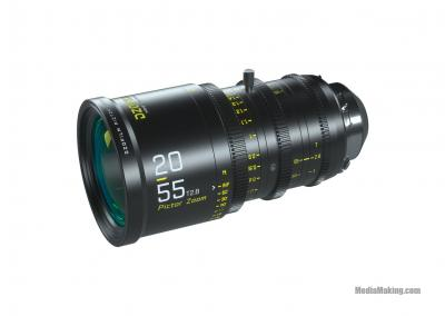 Ottica DZOFilm Pictor 20-55mm T2.8 Super35 Parfocal Zoom