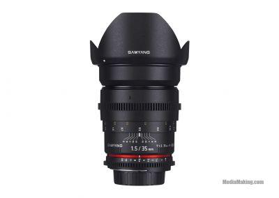 Ottica Samyang 35mm T1.5 VDSLR