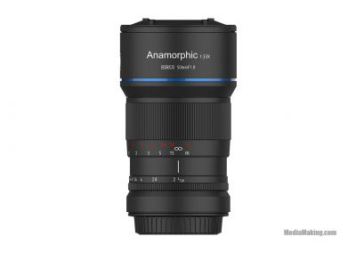 Ottica Sirui 50mm f/1.8 Anamorphic 1.33x