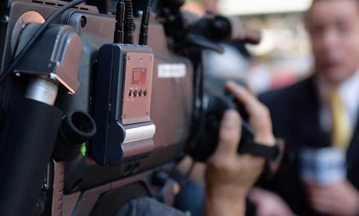 Troupe ENG per interviste e news