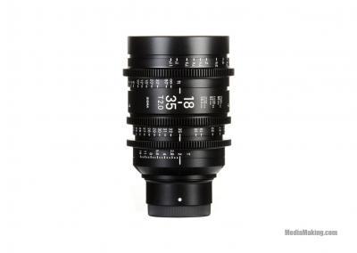 Sigma 18-35mm T2 High-Speed Zoom EF-Mount lens
