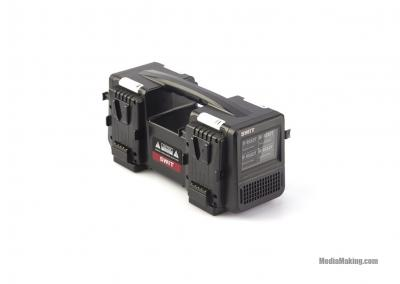 Caricabatterie 4x6A Super Fast V-mount